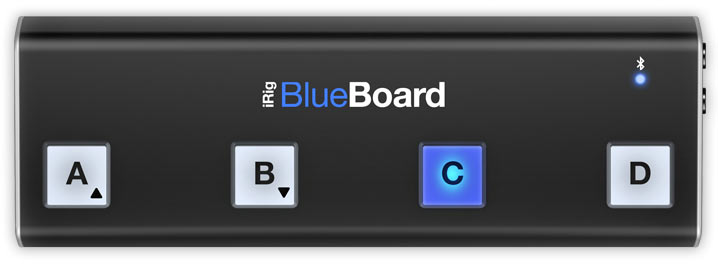 PGSongBook and the iRig BlueBoard